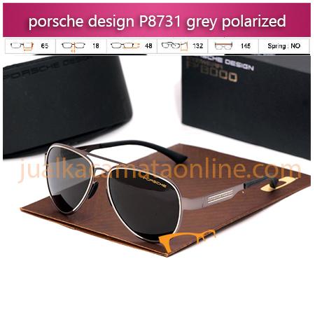 Kacamata Porsche Design P8731 black grey