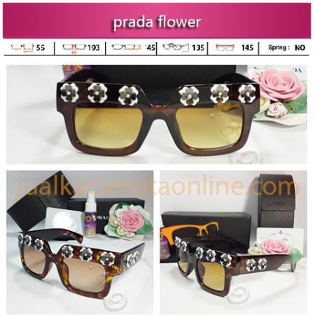 Jual Kacamata Prada Flower Terbaru