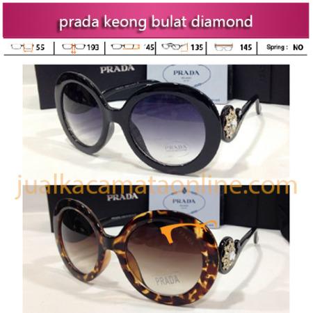 Jual Kacamata Prada Keong Bulat Diamond Terbaru