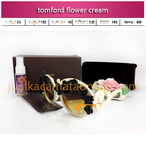 kacamata wanita tom ford flower cream