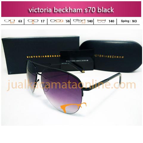 Jual Kacamata Victoria Beckham S70 Black