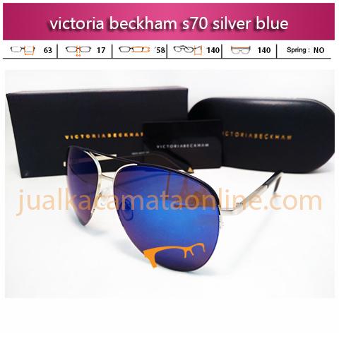 Victoria Beckham S70 Silver Blue