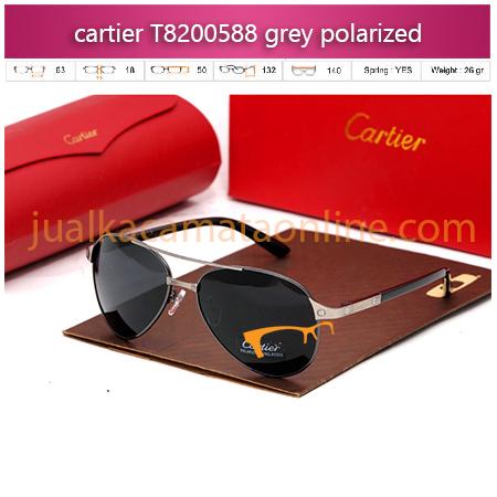 Kacamata Cartier T8200588 grey