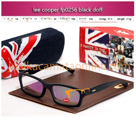 Kacamata Lee Cooper P0256 black doff