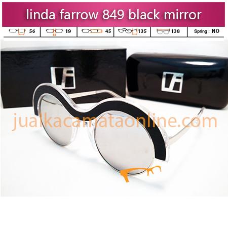 jual kacamata wanita linda farrow 849 mirror