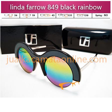 kacamata gaya  linda farrow 849 rainbow