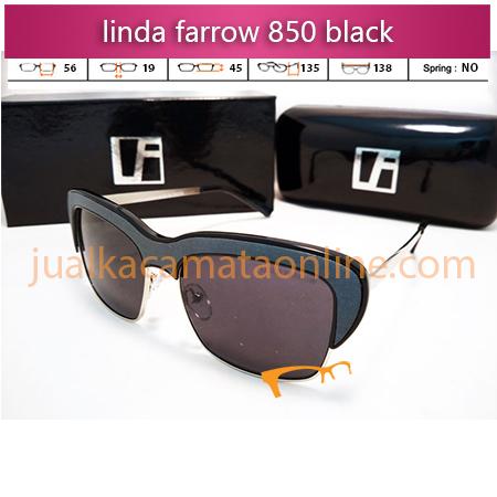 kacamata wanita linda farrow 850 black