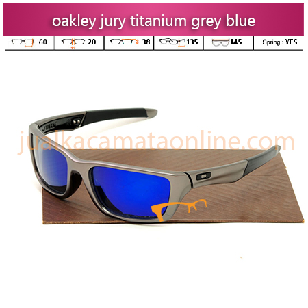 oakley jury grey blue