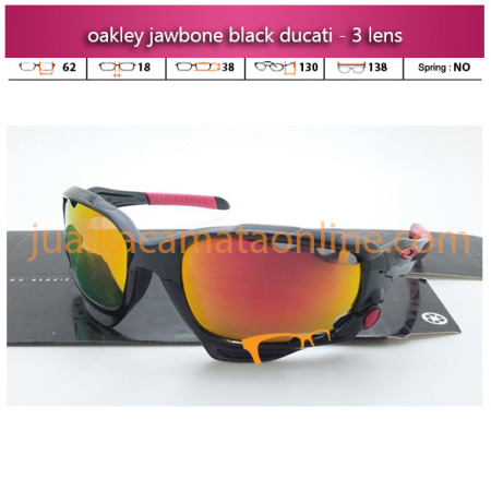 Kacamata Oakley Jawbone Black Ducati Polarized