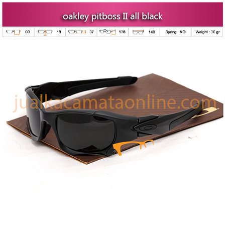Oakley Pitboss II Black