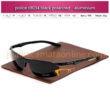 Jual Kacamata Police S9034 Black