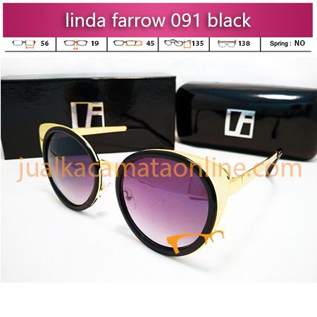 kacamata wanita linda farrow 091 black