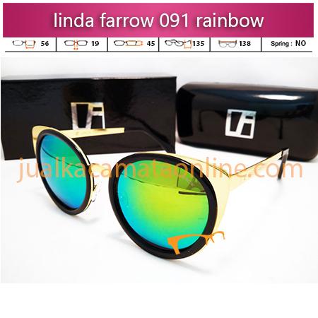 model kacamata terbaru linda farrow 091 black fire