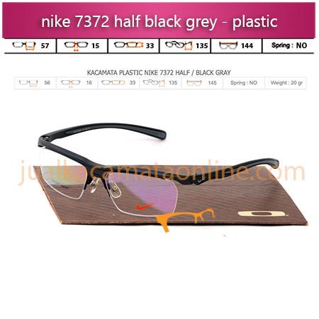 Kacamata Nike 7372 Black Grey
