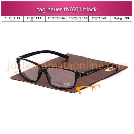 Jual Frame Kacamata Tag Heuer TH7601 Black