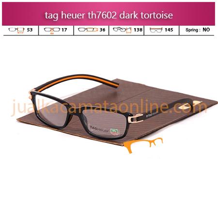 Frame Kacamata Tag Heuer TH7602 Tortoise