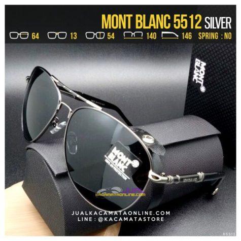 Jual Kacamata Mont Blanc 5512 Silver