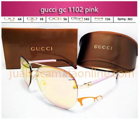 Kacamata Gucci 1102 Pink