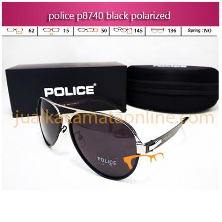 Kacamata Police Aviator P8740 Black