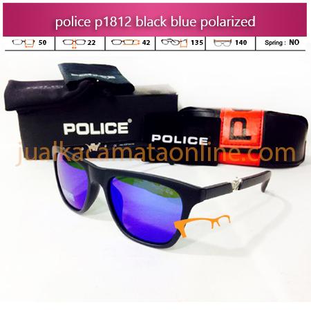 Kacamata Police P1812 Black Blue