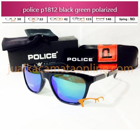 Harga Kacamata Police P1812 Black Green