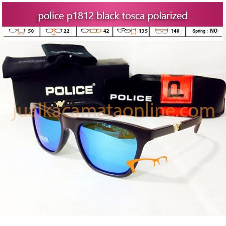 Harga Kacamata Police P1812 Black Tosca