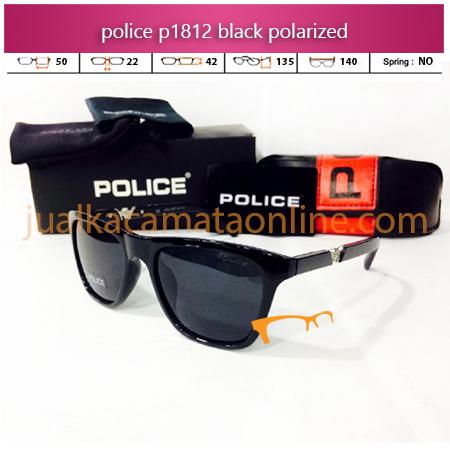 Jual Kacamata Police P1812 Black