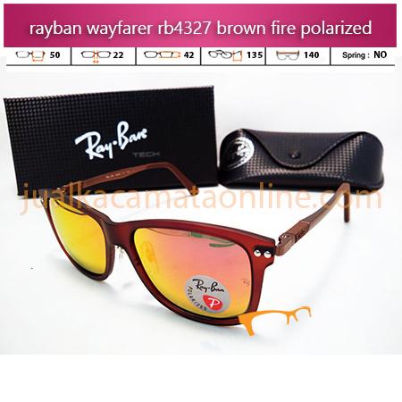 Kacamata Rayban Wayfarer RB4327 Fire