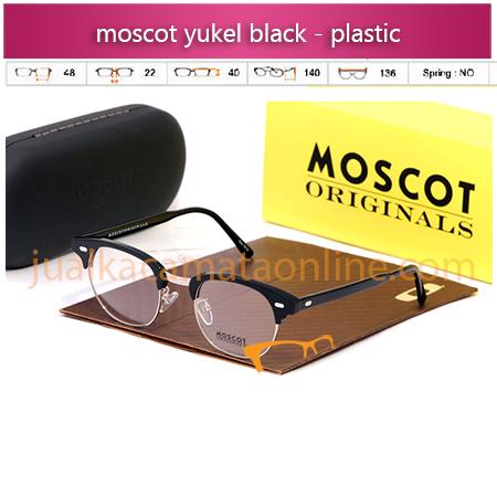 Jual Kacamata Moscot Yukel Black Terbaru