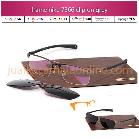 Frame Kacamata Nike 7366AF Clip On Grey