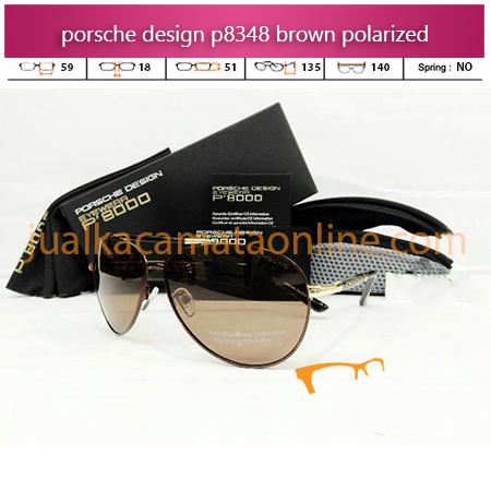 Harga Kacamata Porsche Design P8348 Brown
