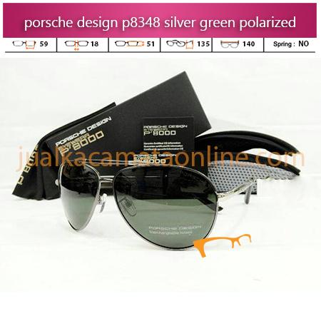 Toko Kacamata Porsche Design P8348 Silver Green
