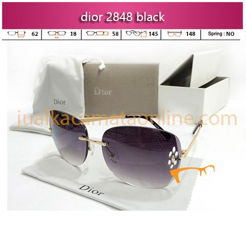 Kacamata Wanita Dior 2848 Black
