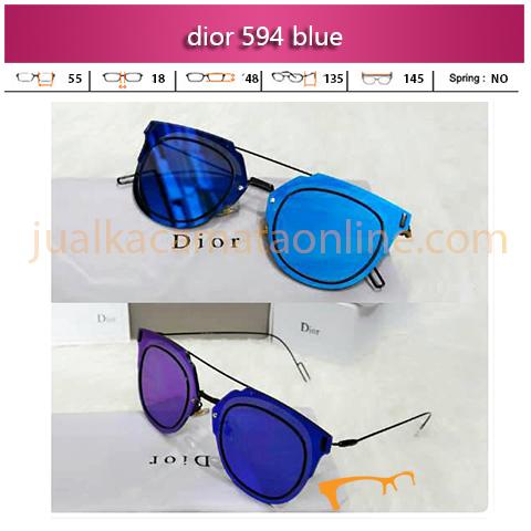 Jual Kacamata Wanita Dior 594 Blue