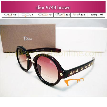 Kacamata Wanita Dior 9748 Brown