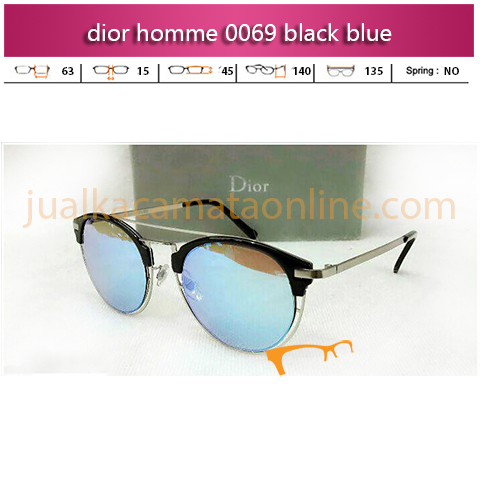 Model Kacamata Dior Homme 0069 Black Blue