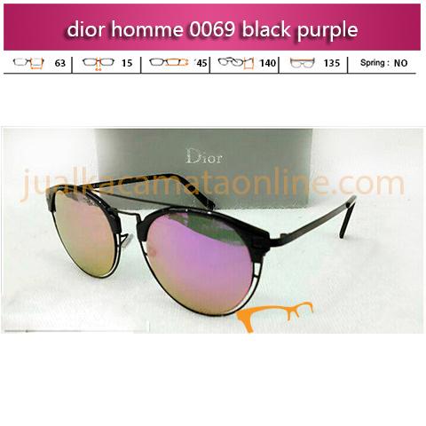 Kacamata Dior Homme 0069 Black Purple