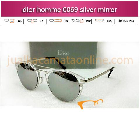 Jual Kacamata Dior Homme 0069 Silver Mirror