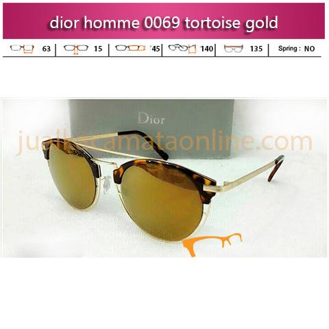Harga Kacamata Dior Homme 0069 Tortoise Gold