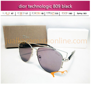 Jual Kacamata Dior Technologic 809 Black