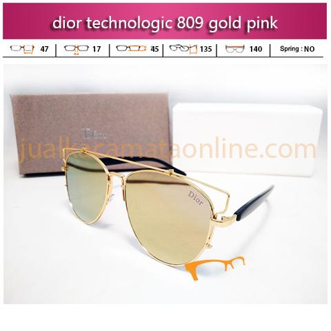 Harga Kacamata Dior Technologic 809 Gold Pink