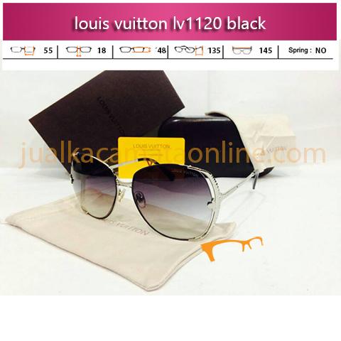 Toko Kacamata Louis Vuitton LV1120 Black