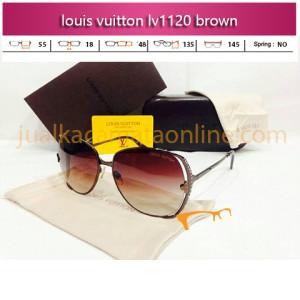 Jual Kacamata Wanita Louis Vuitton LV1120 Brown