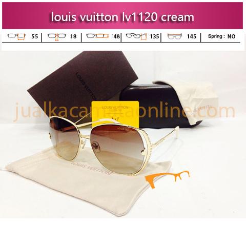 Harga Kacamata Louis Vuitton LV1120 Cream