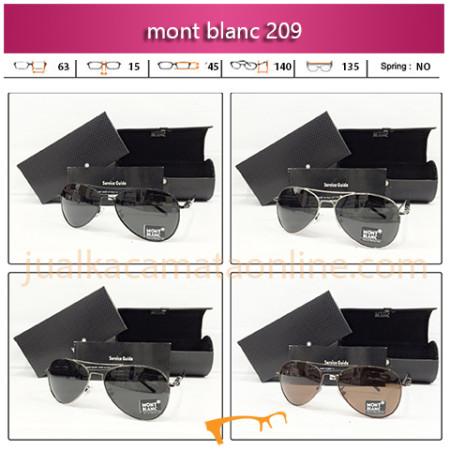 Jual Kacamata Mont Blanc 209 Anti UV Terbaru