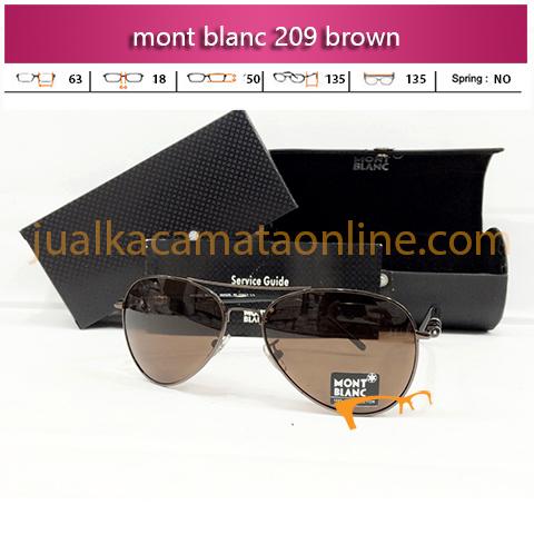 Toko Kacamata Mont Blanc 209 Brown