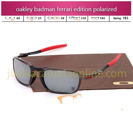 Model Kacamata Oakley Terbaru  Badman Ferrari Edition