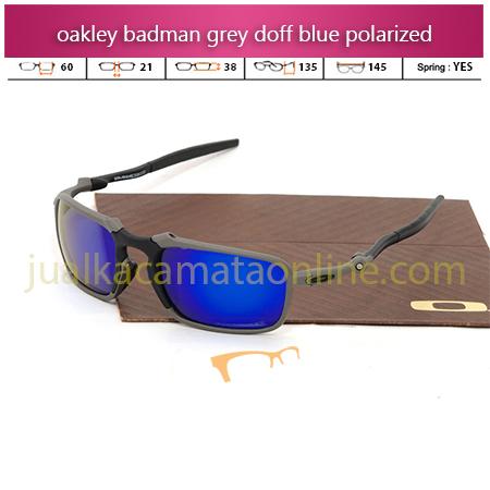 Harga Kacamata Oakley Badman Grey Blue