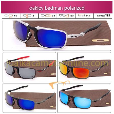 Jual Kacamata Oakley Badman Terbaru Polarized