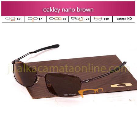 Frame Kacamata Oakley Nano Brown